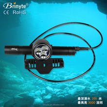 DIV10 Underwater LED Magnetic Diving LED Lamp Light Torch