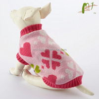 China factory sell custom knitted pet clothes/pet clothing/pet apparel