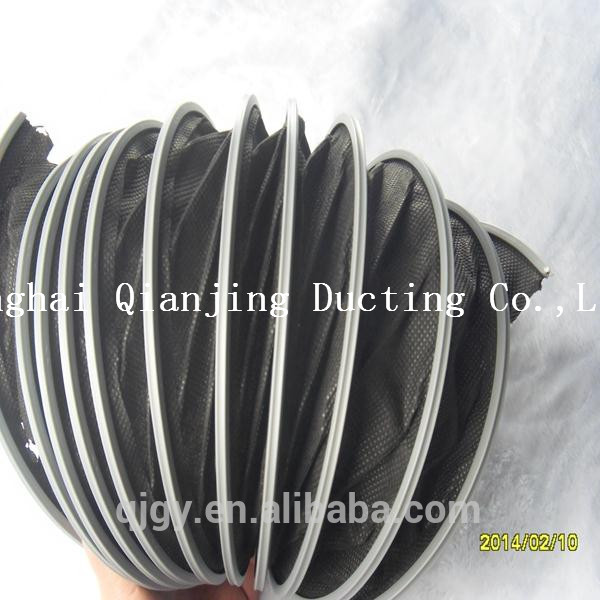 Silicone coated high temperature flexible cable duct vehicle-intercooler and turbo applications