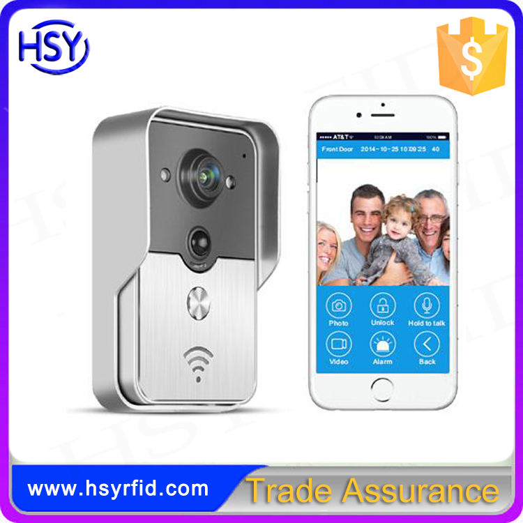 New Wifi camera video door phone doorbell Wireless Intercom Support 3G 4G IOS Android for iPad Smart Phone Tablet Control