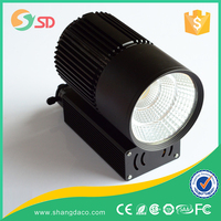 Low decay narrow focus 12W spot led track light