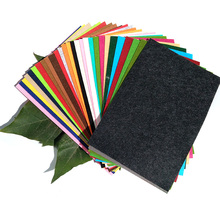 3MM Thick for Craft Decoration Needle Punched Nonwoven BSCI Certificate 600gsm Colorful Factories Polyester Felt