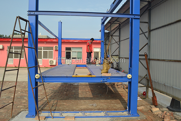 4 post outdoor car lift for sale
