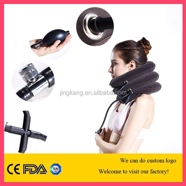 adjustable neck collar full flannel cervical traction neck support for neck pain