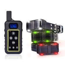 2000Meters rechargeable waterproof 1000m remote dog training collar shock