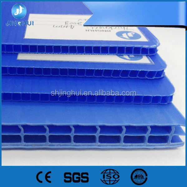 2mm 3mm 4mm 5mm 6mm 7mm 8mm pp hollow sheet / Corrugated Plastic Sheets