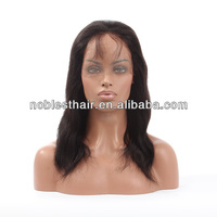 22inch Virgin Peruvian Hair Silk Top Human Hair Bob Styles in Natural Color 613/27 30 530 27/30 mix color