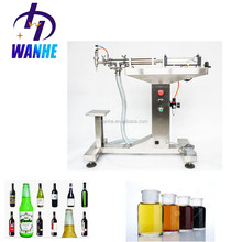 Manual beer bottle filling machine for shampoo, small juice, sauce liquid filling machine