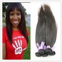 2013 new arrival natural color high quality straight hair bundles brazilian hair in dubai