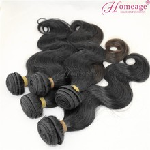 homeage cyber monday best selling hair extensions body wave new style crochet braids with human hair