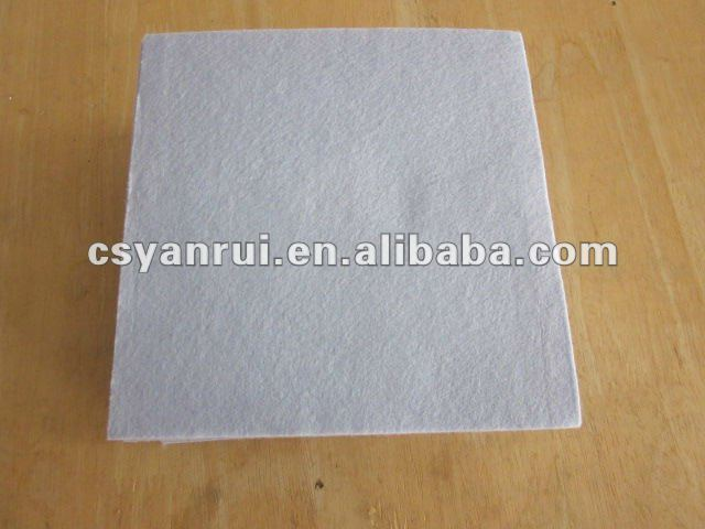 Non woven wood pulp cleaning cloth