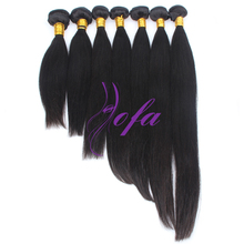 "7A Malaysian straight hair color 1B 8""-36"" in stocks top quality wholesale"