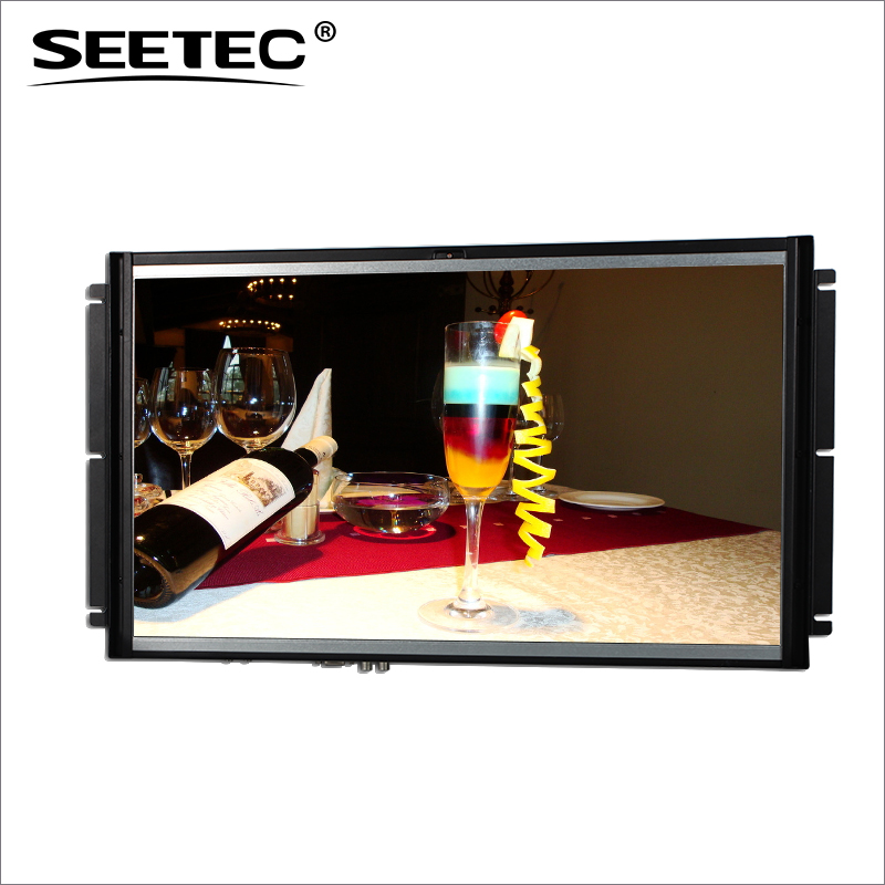 21.5 inch tft touch sreen monitor lcd screen ad player advertising display with hdmi input