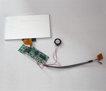 3 screens video player module lcd panel