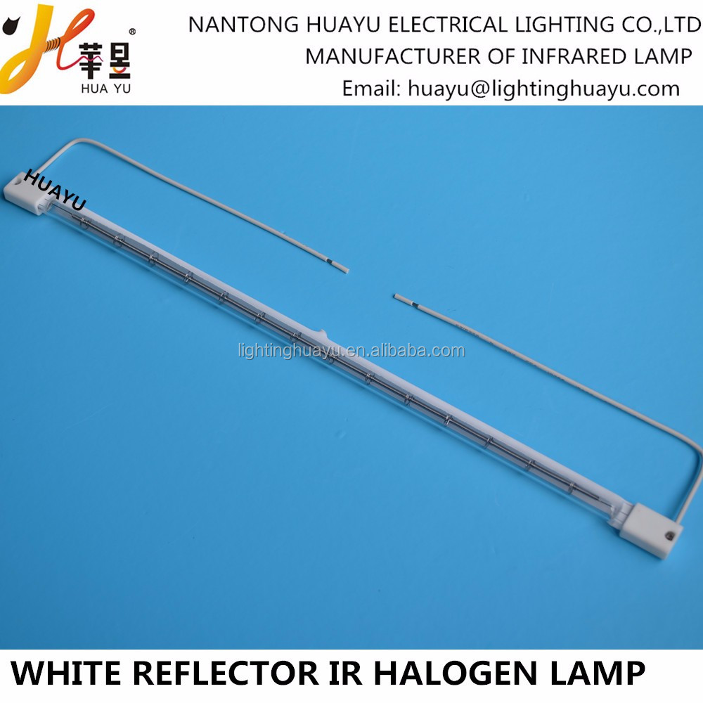 Infrared Halogen Electric Heater Element Quartz Heating Tube