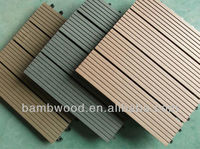 WPC DIY Waterproof Outdoor Decking Floor