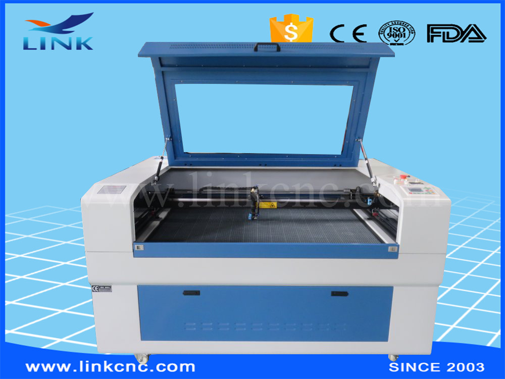 CNC non-metal CO2 Laser engraving and cutting machine for wood/crystal/leather/plastic price
