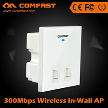 Professional Wireless Networking Equipment COMFAST CF-E530N Mini Wireless Inwall AP