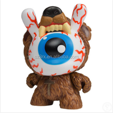 Wholesale custom 1/6 PVC action figures/make custom movable action figure/customized big eye dunny action figures