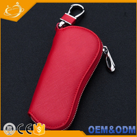 From OEM Factory Supplier Smart Leather Wallet Car Key Case Bag With Many Colors to Choose