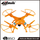 H809C 2.4g 4ch big size plastic raw material rc drone plane with camera