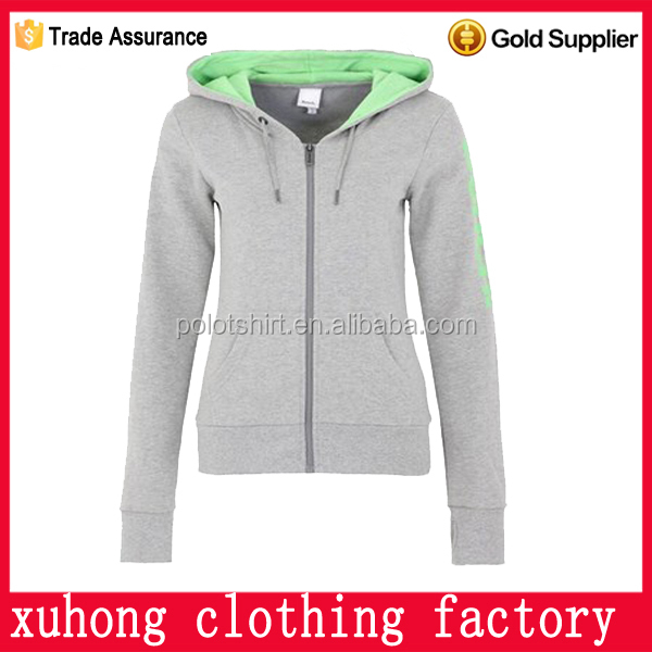 zipper hoodie thin hoodies winter fashion girls wholesale china