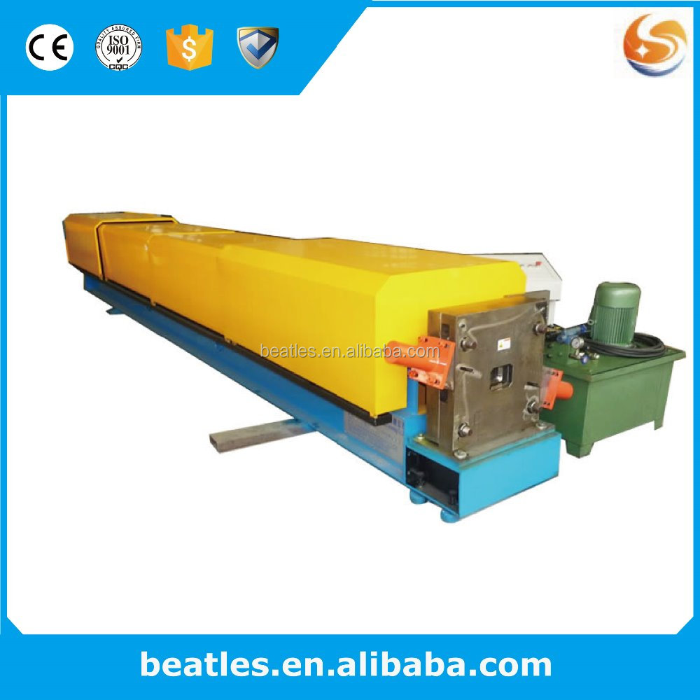 Hydraulic cutting round Downspout roll forming machine