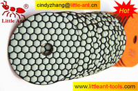 honey test wet angle grinder stone polishing pads for used concrete floor grinding machine