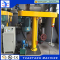 2017 hot sale hydraulic lift 30KW chemical twin shaft vacuum paint disperser