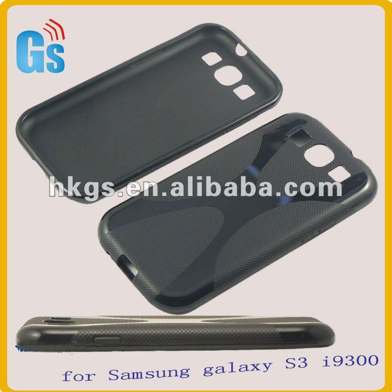 For samsung galaxy s3 i9300 x line tpu phone case wholesale price