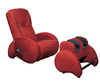 Comfortable massage chair with footrest massage A18+A13