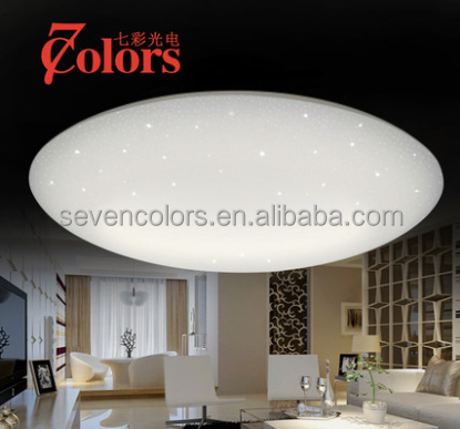 Dia.270mm Oyster Shape Ultra Thin Starry LED Ceiling Light SC-H101B