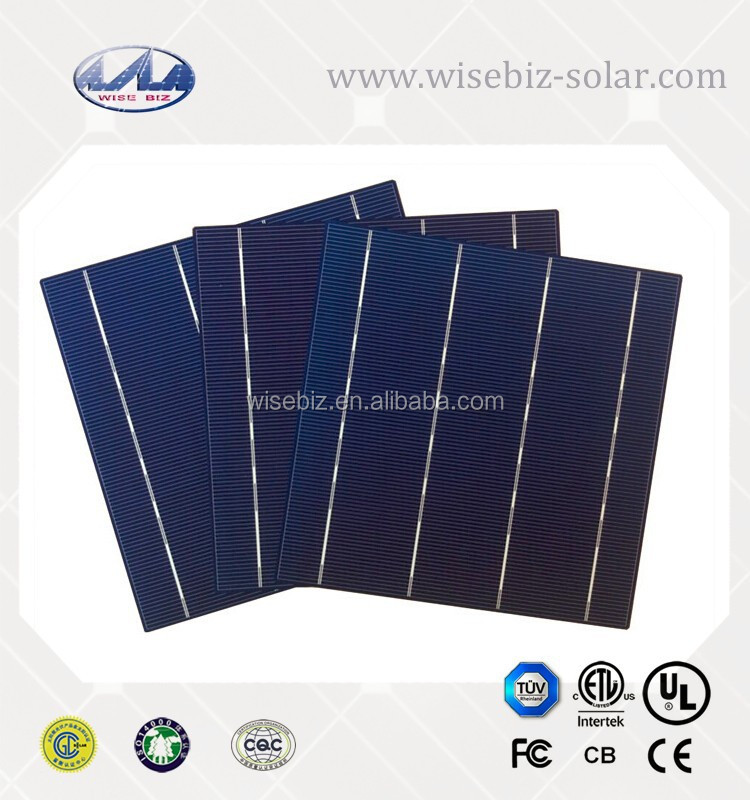 made in Taiwan/Germany 6inch 3BB/4BB polycrystalline/multi solar cell