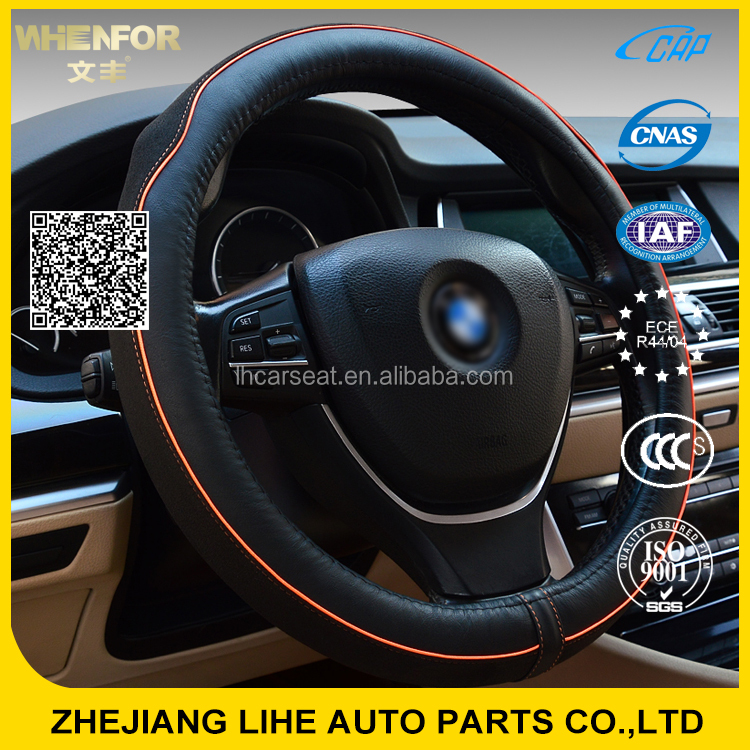 Effect assurance opt sport grip shrink car steering wheel cover in China