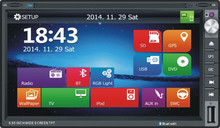 Car dvd player for Toyota RAV with Android 6.0 system GPS Navigation/ TV/Bluetooth/AM/FM/Radio
