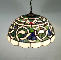 Tiffany style lighting ceiling lamp Hot sell 2014 tiffany ceiling lamp(TF-DFN1)
