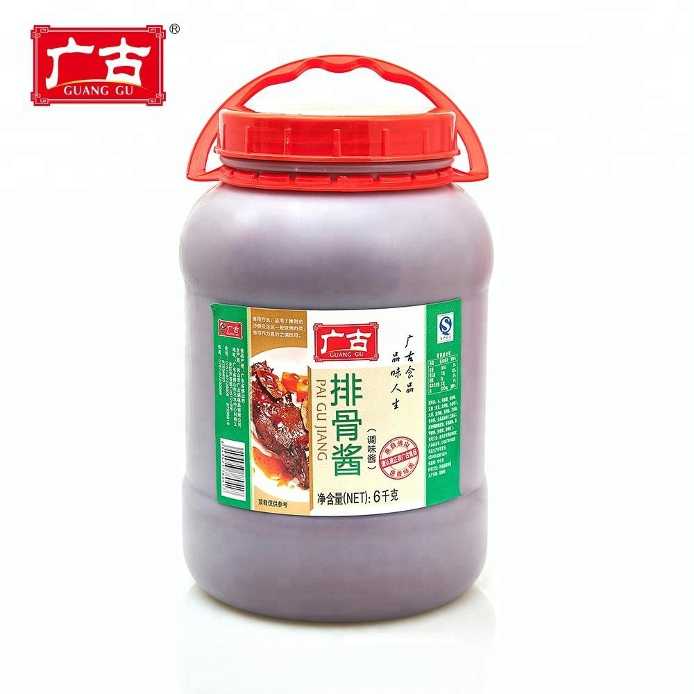 6kg Guanggu Condiments Sweet Sour Spare Rib Sauce for Beef Ribs