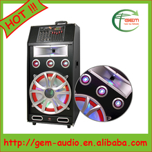 Good price High quality street broadcast trolley 12 inch tweeter speakers acoustic subwoofer