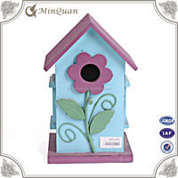 wood colorful birdhouses , decorative bird houses for sale