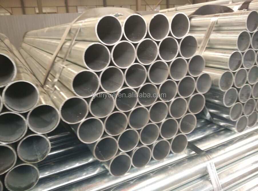 Q345B Hot dipped Galvanized water welded steel pipe