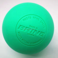 100% rubber field hockey lacrosse ball