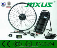 "2016 New design 20/24/26/28"" 700C 350W geared hub motor electric bike conversion kit wholesale online"
