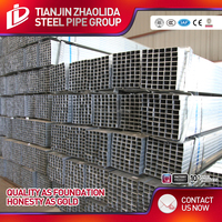 galvanized/black steel square and hollow rectangular steel iron pipe tube corral panels