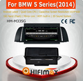 Hifimax Android 4.4.4 Car DVD Player For BMW 5 series 2014 with Quad Cores 16G FLASH 1G RAM