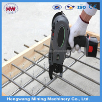 HW-340 battery rebar tying wire machine
