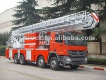 Elevating platform fire fighting truck for sale in europe