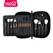 MSQ 28 piece professional makeup brushes private label cosmetics makeup brushes