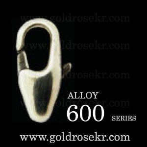 Alloy Lobster clasp 600 series