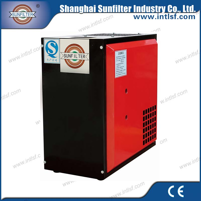 Man truck air compressor used refrigerated compressed industrial dryer