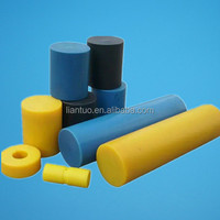 100% virgin material plastic rod nylon round bar yellow cast mc nylon rod
